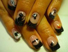 Halloween Nail Designs and Nail Art