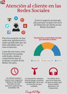 En Tager 2Up estamos infografiando...¿Está tu empresa preparada para la Atención al Cliente en las Redes Sociales?  #Infografiando #ATC #AtenciónAlCliente #RedesSociales #Infografía #ROI #ROIsocialmedia #RedesSociales #MarketingDigital #SocialMedia #Pinterest #Infografiando #Targer2Up #Target #Branding #Formación #PYME #Emprendedor #Emprendedores #Latinoamérica