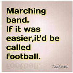 Band nerd for life....