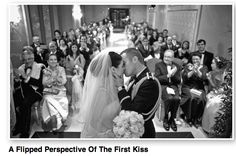 A Flipped Perspective Of The First Kiss