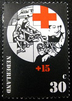 FFFFOUND! | SO MUCH PILEUP: Philately Fridays: Netherlands 1972