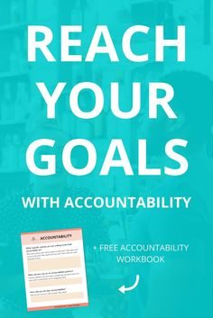 Most people fail when they're working towards their goals because they lose willpower throughout the process. Accountability steps in when willpower fails. Click through to learn about how important accountability is, how to achieve your goals with it and how to put it into action in your own life.