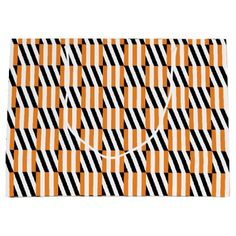 Shifty Lines Large Gift Bag - Halloween happyhalloween festival party holiday