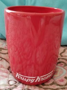Krispy Kreme Limited Edition Heart Shaped Mug - NEW! #KrispyKreme