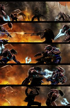 Halo: A Fistful of Arrows 66 by LeviWasTaken