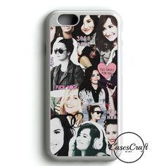 533499cf55d35 Demi Lovato Neon Light iPhone 6 Case Cover
