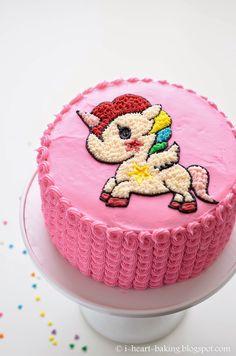 i heart baking!: tokidoki unicorn funfetti cake