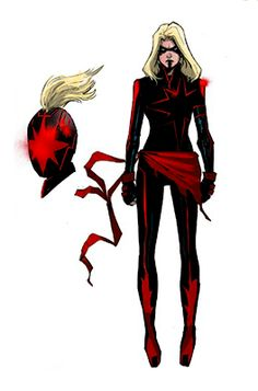 I know you're not exactly reading Carol's comics but I assume you're kind of in the loop? What do tou think of the upcoming evil dark Captain Marvel design? So grimdark. Marvel Comic Universe, Ms Marvel, Marvel Avengers, Avengers Alliance, Comics Universe, Superhero Characters, Female Characters, Book Characters, Marvel Tumblr