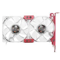 #BangGood - #Eachine1 80mm 12V 15dBA PC Cooler LED Graphics Card Cooler Mute Cooling Fan VGA Mate 1400RPM Fan - AdoreWe.com