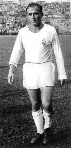 D. Alfredo Di Stefano. Prolific scorer for Real Madrid.
