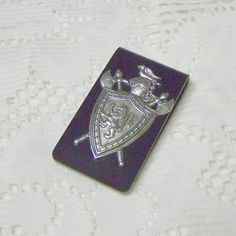 Money Clip  Renaisance Medieval Money Clip great gift for Groom or Groomsmen at a Medieval Themed Wedding by SouthernBelleOOAK