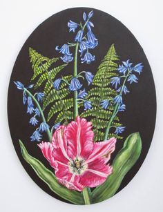 "Saatchi Art Artist Jacqueline Talbot; Painting, ""Spring"" #art"