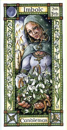 The Goddess and the Green Man | Imbolc | Imbolc Candlemas