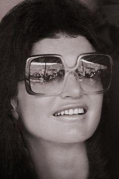 Jackie Kennedy-Onassis' Nina Ricci sunglasses. Timeless grace