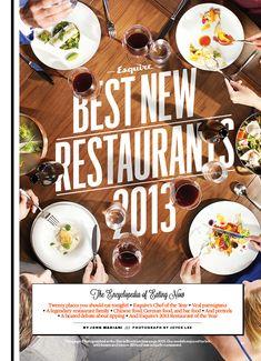 Esquire's Best New Restaurants Package - Frank Augugliaro /// Art Direction & Design