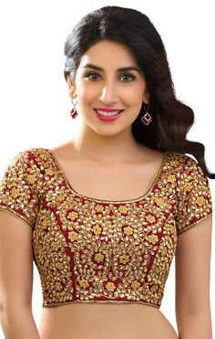 King Sales Introduces Maroon Designer Full Stitched (Ready Made) Embroidered and Heavy Stone Work Blouse FOR MORE DETAILS :>>>>>>>>>> www.kingsales.co.in WHATSAPP/CALL : +91 8866022522 EMAIL : kingsales1979@gmail.com