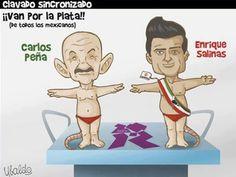 Noticias Guerrer@s SME: Caricaturista retoma pifia de Peña Nieto con clavadistas