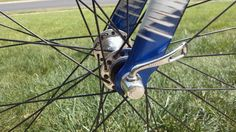 This wheel set I laced up and built only weighs about 1650 grams.that's pretty light! Pretty Lights, Bicycles, Cycling, Wheels, Biking, Bicycling, Bike, Bicycle, Ride A Bike