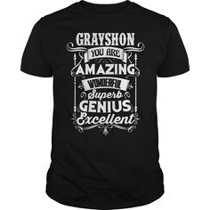 Funny Tshirt For GRAYSHON #gift #ideas #Popular #Everything #Videos #Shop #Animals #pets #Architecture #Art #Cars #motorcycles #Celebrities #DIY #crafts #Design #Education #Entertainment #Food #drink #Gardening #Geek #Hair #beauty #Health #fitness #Histor https://www.youtube.com/channel/UC76YOQIJa6Gej0_FuhRQxJg