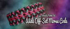 Wide Off-Set Morse Code | Swiss Paracord
