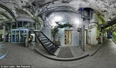 bunkers | wiki3 The bunker, drilled into granite under the Vita Berg Park, could ...