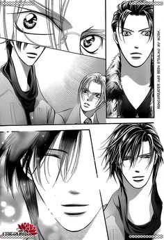 Skip Beat 190, I hope he has good life insurance
