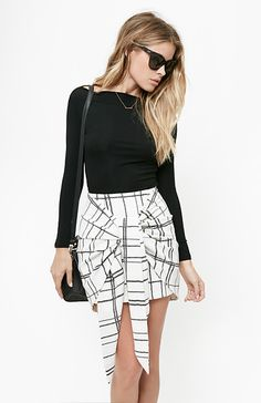 Paint It Black at DailyLook - love the skirt!