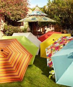 gorgeous patio umbrellas