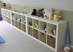 IKEA Playroom Storage Ideas