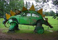 A Beetle or a Dinosaur ?