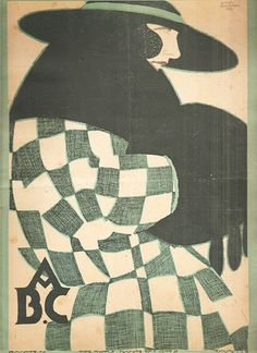 Jorge Barradas, ABC magazine, 1921 - cover via Gatochy