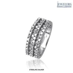 1 Carat Total Weight Genuine Diamond Palmona Blanca Ring in Sterling Silver - Assorted Finishes at 89% Savings off Retail!
