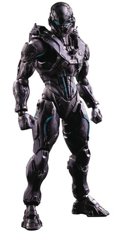 Square Enix Halo Spartan Locke Play Arts Kai Action Figure From Square Enix. Master Chief has gone missing, and Spartan Locke, an expert in tracking and Armadura Ninja, Rpg Star Wars, Armadura Cosplay, Combat Suit, Arte Robot, Futuristic Armour, Sci Fi Armor, Future Soldier, Suit Of Armor