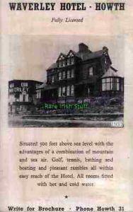 Waverley-Hotel-Howth-Dublin-1937-Advert-Print Dublin Bay, Old Photos, Celtic, Ebay, Live, Antique Photos, Old Pictures, Vintage Photos