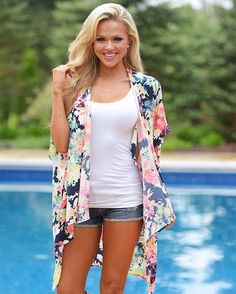 Alisha Dream Kimono.  Unique, Affordable Fashion. Online Women's Boutique. Fast and free shipping on everything!