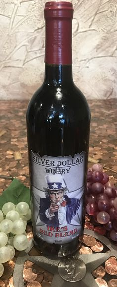 Silver Dollar Winery is home of the best Texas wines, located in Bedford, Texas. Bedford Texas, Wines, Red Wine, Alcoholic Drinks, Label, Liquor Drinks, Alcoholic Beverages, Liquor