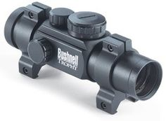 Bushnell Trophy 1x28 Red/Green Dot Rifle Scope 4 Interchangeable Reticle by Bushnell. $96.67. Rifle scope with 28-Millimeter objective lens. Field of view at 100-Yards, 68-Feet. Amber bright optics provide increased brightness for low light conditions. 100% waterproof, fogproof, shockproof construction. Four dial in reticles in green for low light and red for bright light. Amazon.com                Part of the Bushnell Trophy riflescope series, this 1x28 scope (model 73-0135) is...