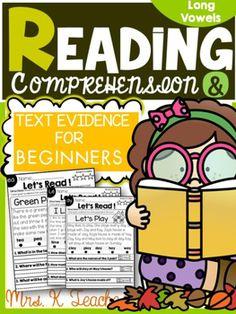 FREE Long Vowel Readers