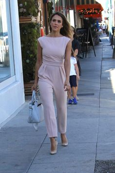Jessica Alba in Max Mara paired with a Kenzo bag out & about in Beverly Hills. #bestdressed