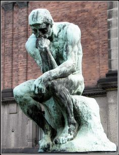 The 4 Psychological Traps that Keep us Stressed, Anxious & Depressed: Rumination. Auguste Rodin, Rodin The Thinker, Create Your Own Wallpaper, Stone Statues, Art Database, Mind Body Soul, Anxious, Depression, Psychology
