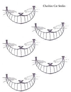 creepy cheshire cat cut out - Google Search