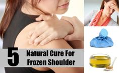 Frozen shoulder is a debilitating condition that causes extreme pain and reduces the movement of the shoulder. A continuing condition of frozen shoulder can Frozen Shoulder, Natural Cures, The Cure, Medical, Personal Care, Health, Nature, Fitness, Self Care