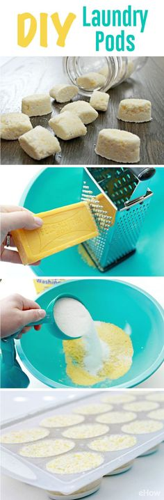 Save TONS of money by making your very own laundry detergent pods. It's so simple, you'll never think about buying again. DIY Instructions here: http:∕∕www.ehow.com∕how_12342934_make-diy-laundry-pods.html?utm_source=pinterest.com&utm_medium=referral&utm_content=freestyle&utm_campaign=fanpage