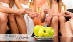 Call today and book a spa party for your next big event, or just to get together with the girls! #treatyoself