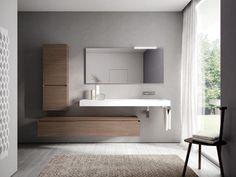 CUBIK Bathroom furniture set by IdeaGroup