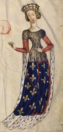 Marie de Berry, Duchess of Auvergne Keskiaikavaatteet, Renessanssin Taide, Keskiaika, Muotokuvat, Kuvitukset, Piirrokset, Auvergne, Kelttiläistä