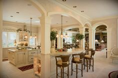 kitchen islands | Kitchen Islands with Seating - Colonial Craft Kitchens, Inc.Colonial ...