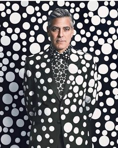 #YayoiKusama has covered everything from steel pumpkins to #GeorgeClooney in polka dots. The 88-year-old Japanese artist whose work has Instagrammers flocking to exhibitions shows no signs of slowing down (click the link in our bio to read more). Photo by @EmmaSummerton; W Magazine December/January 2013.  via W MAGAZINE OFFICIAL INSTAGRAM - Celebrity  Fashion  Haute Couture  Advertising  Culture  Beauty  Editorial Photography  Magazine Covers  Supermodels  Runway Models