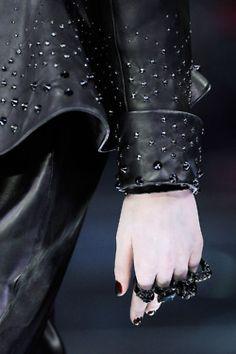 I don't care if this is on a woman, I'd wear it. All of it. McQueen