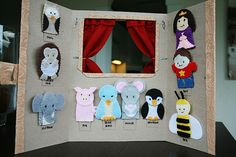 finger puppet stage